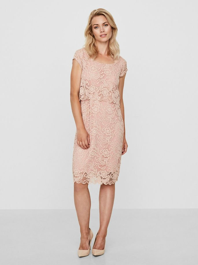 Mamalicious, LACE NURSING DRESS imetysjuhlamekko