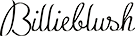 billieblush logo