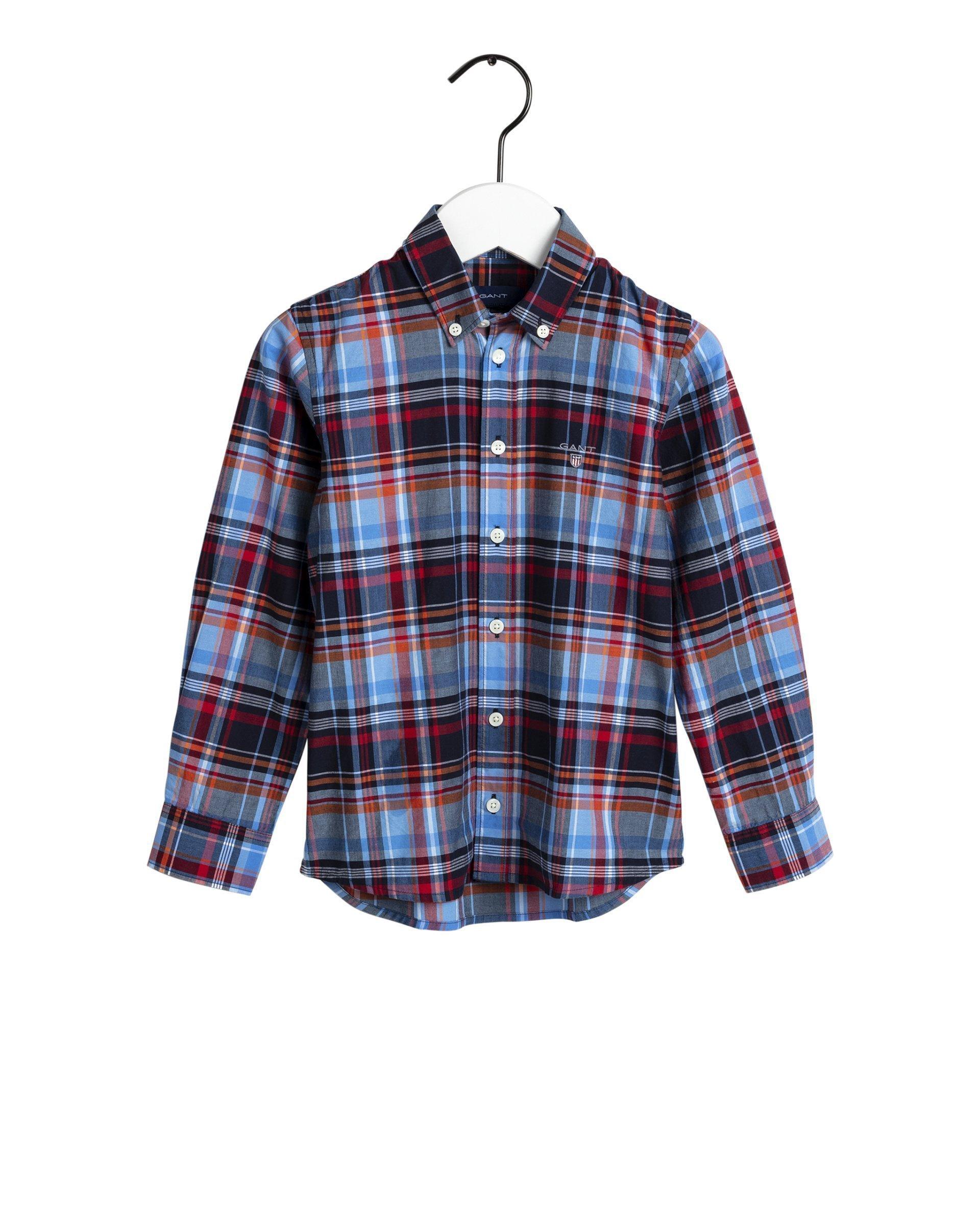 Lasten Gant, preppy madras shirt kauluspaita