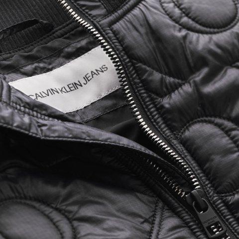 Calvin Klein, monogram quilted bomber takki
