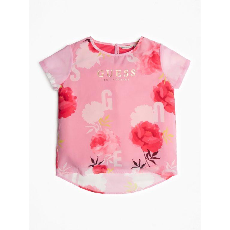 Guess, flower print t-paita