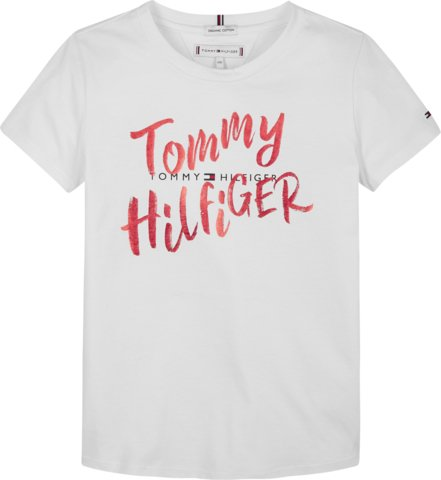 Nuorten Tommy Hilfiger, graphic on graphic t-paita