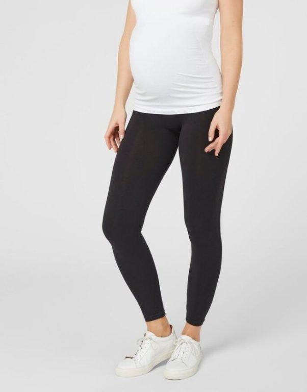Mamalicious, BASIC MATERNITY LEGGINGS äitiysleggingsit musta