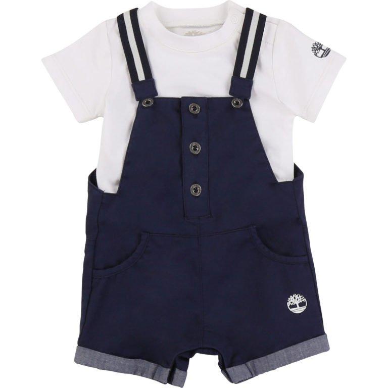 Timberland, textile kit shortsi-t-paita-setti