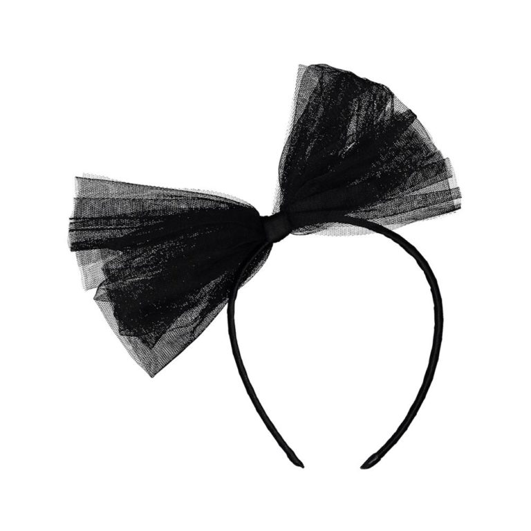 LAUROU, bebe headband hiuspanta black swan