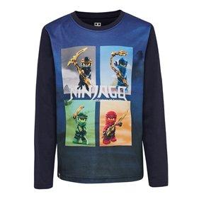 LEGO WEAR, t-shirt l/s paita sininen