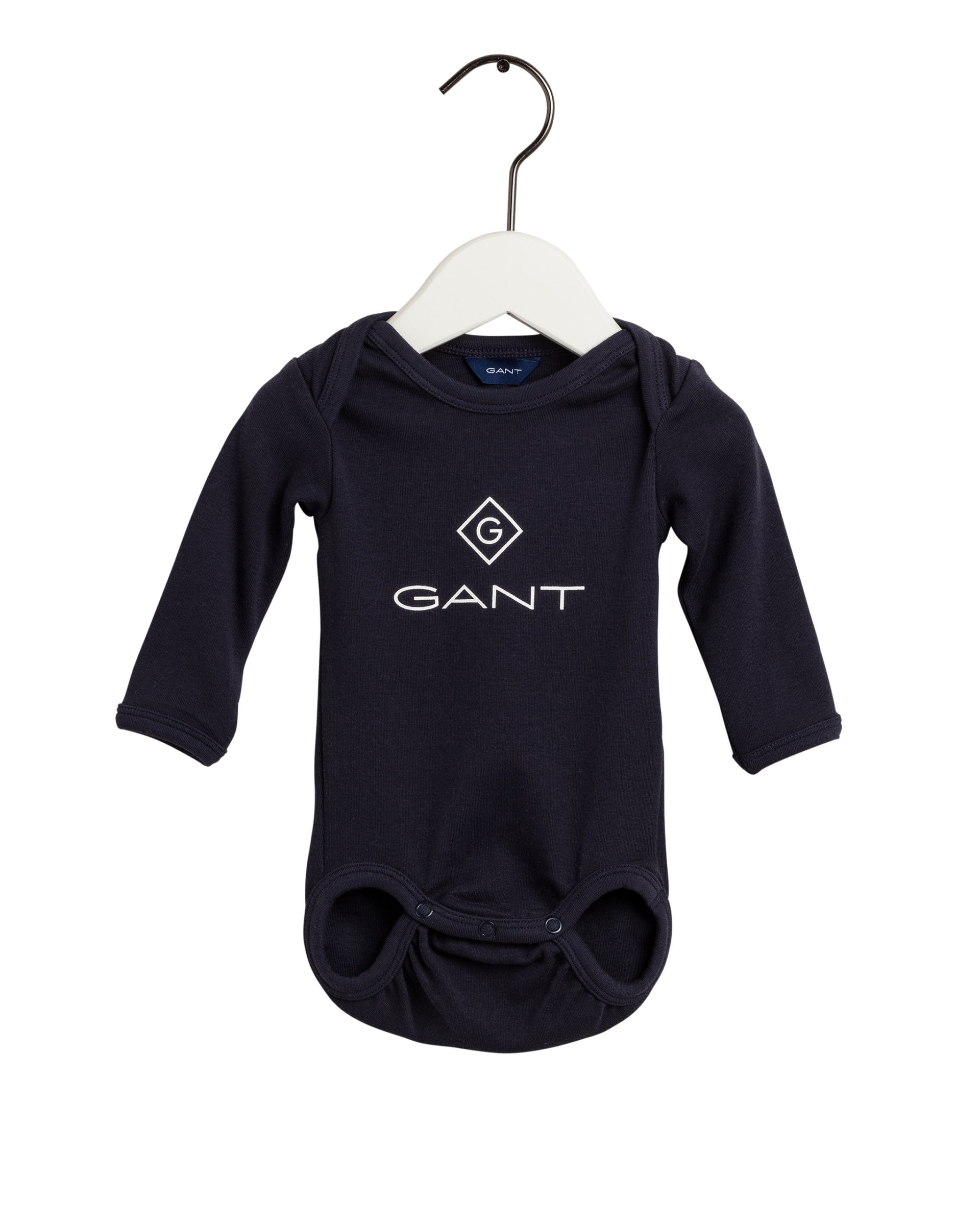 GANT, organic lock-up body tummansininen