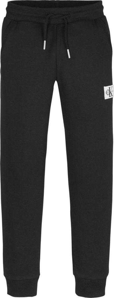 Calvin Klein, Monogram collegehousut nuorille, musta