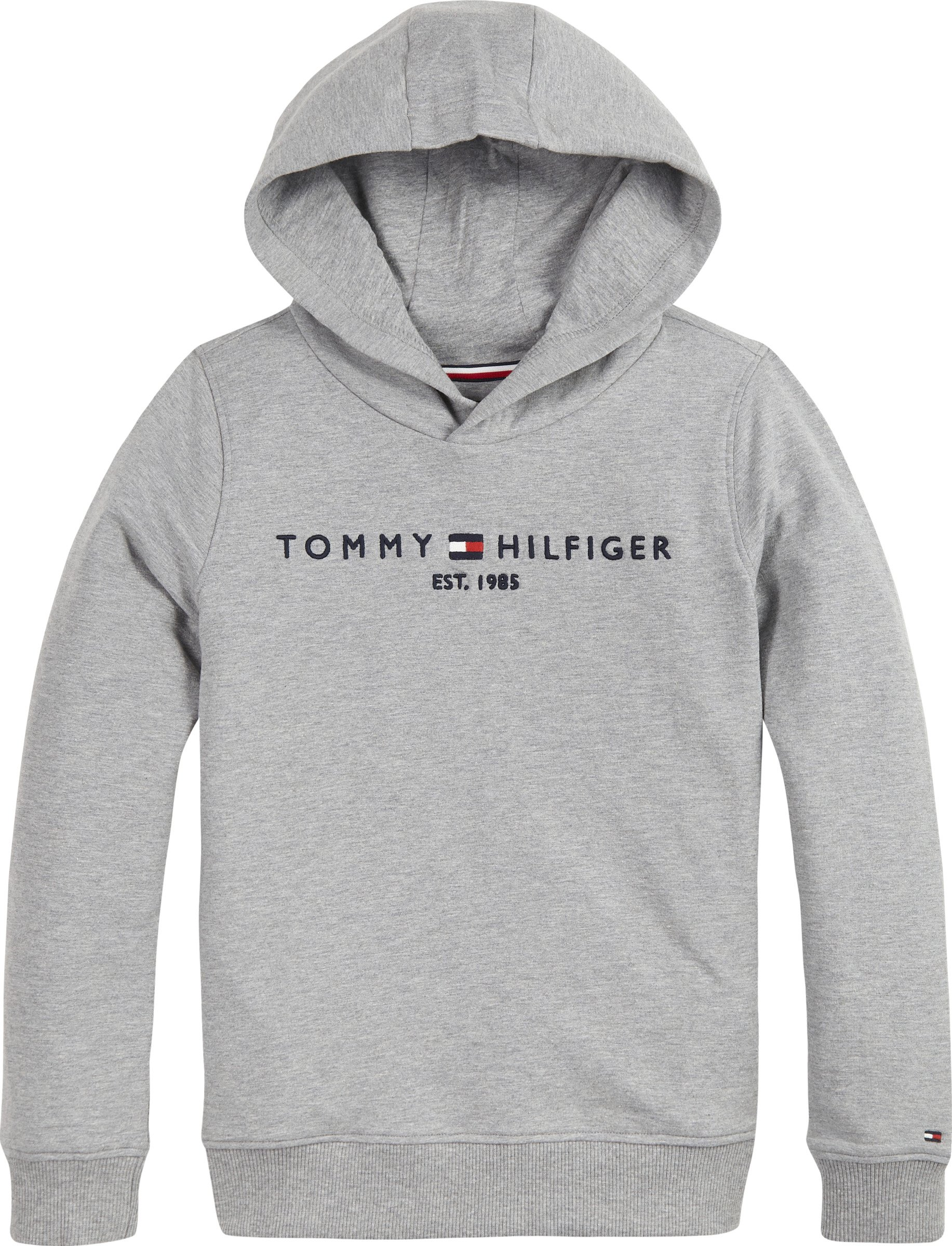 Tommy Hilfiger, Nuorten Essential huppari, harmaa