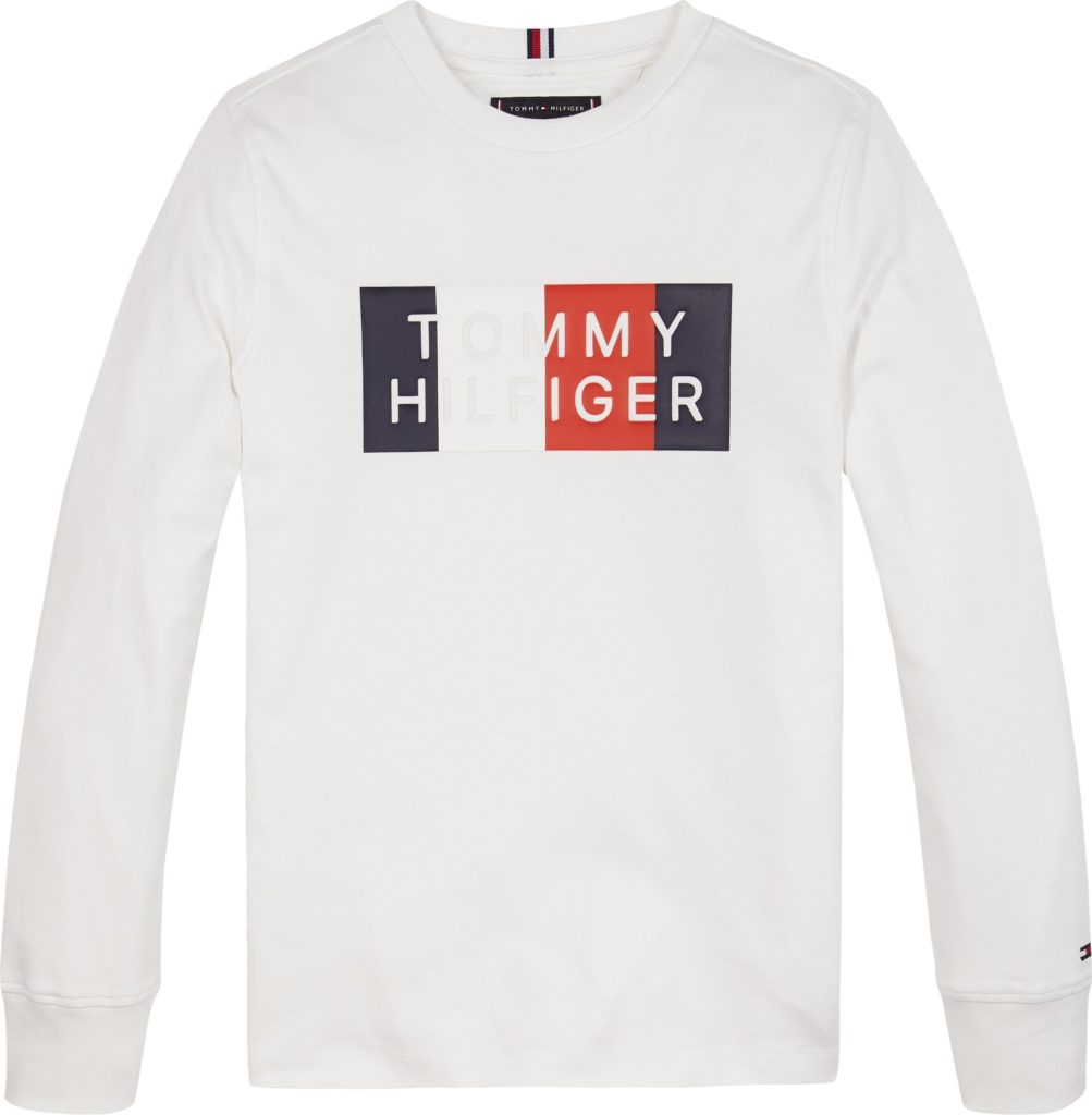 Tommy Hilfiger, Global Stripe Graphic l/s paita