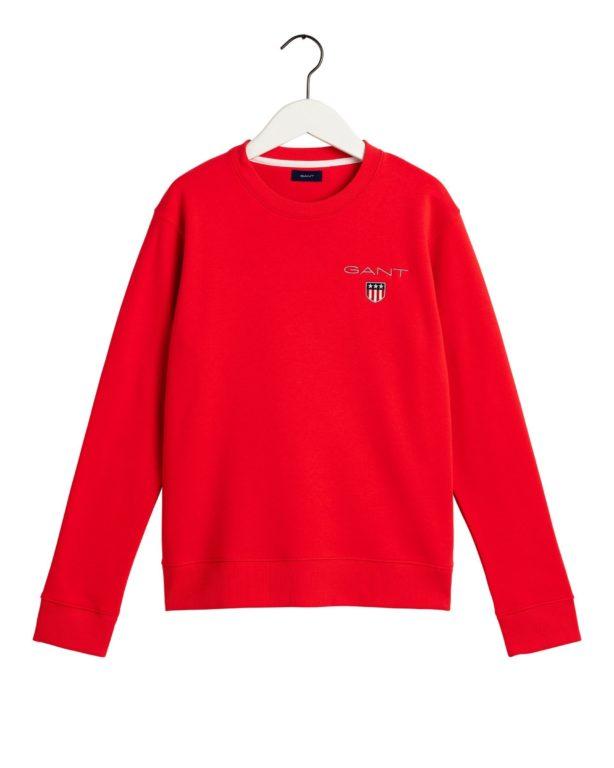 Gant, medium shield sweat collegepaita nuorille punainen