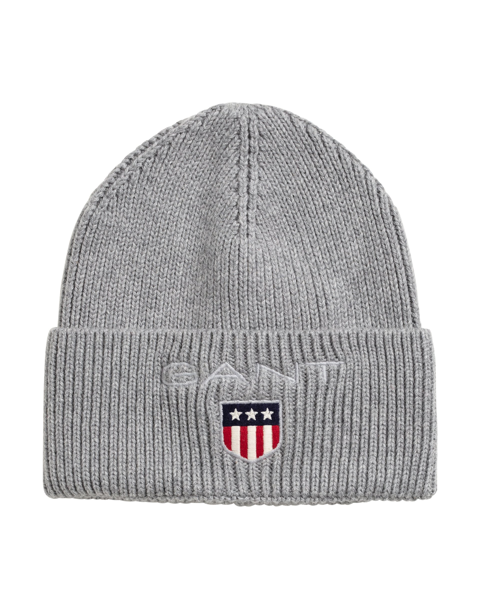 Gant, D1. Medium shield rib beanie pipo harmaa