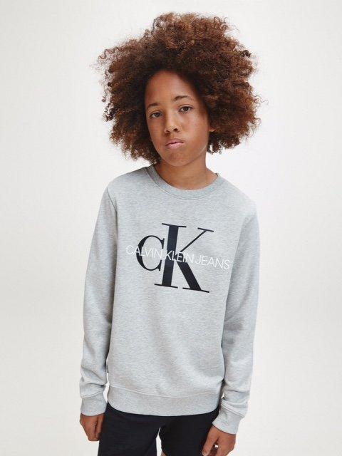 Calvin Klein, Unisex Monogram logo collegepusero nuorille
