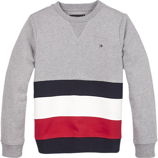 Tommy Hilfiger, Global stripe colorblock cn college