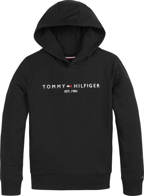 Tommy Hilfiger Nuorten Essential Huppari musta