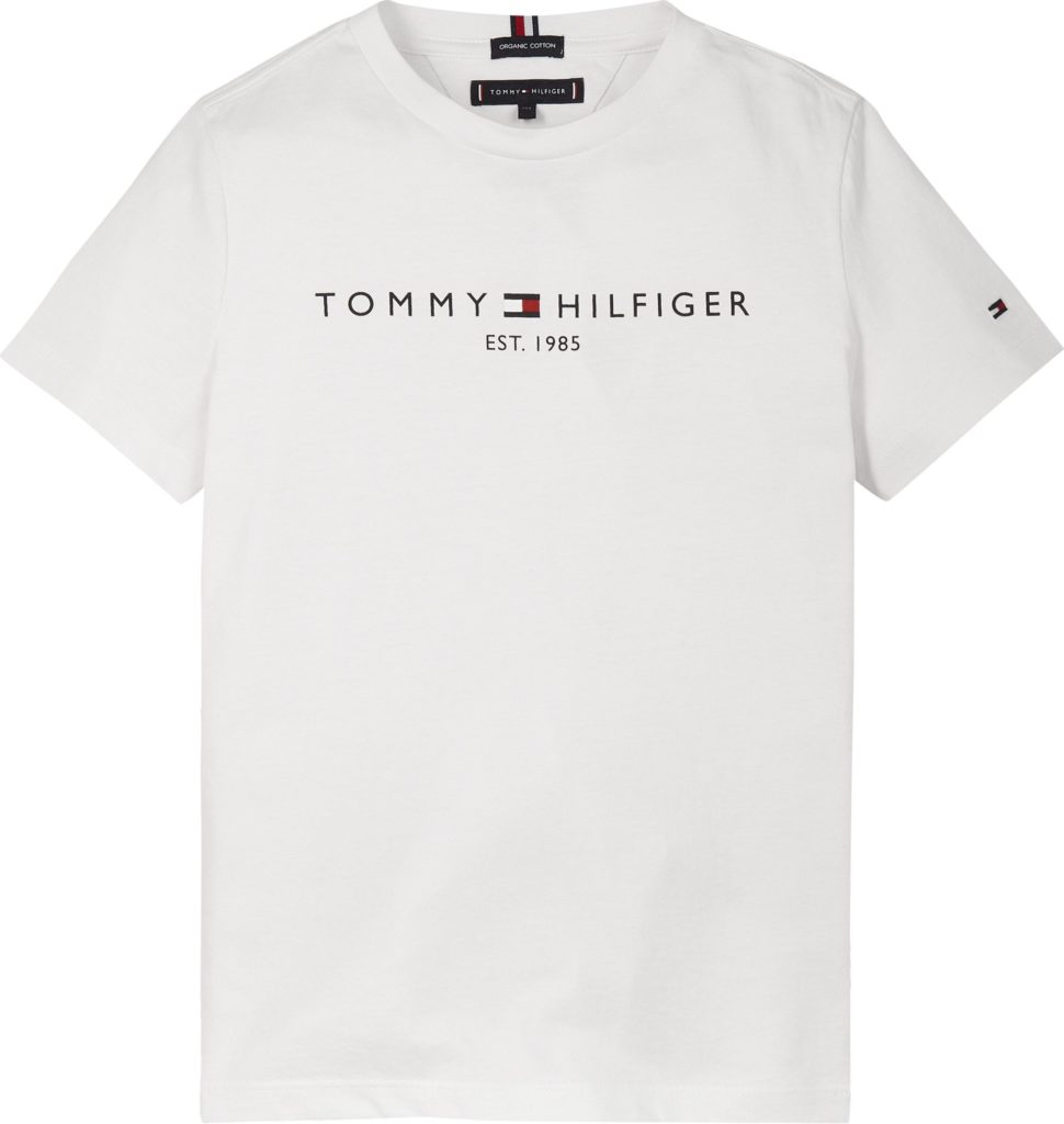 Tommy Hilfiger, essential s/s t-paita valkoinen