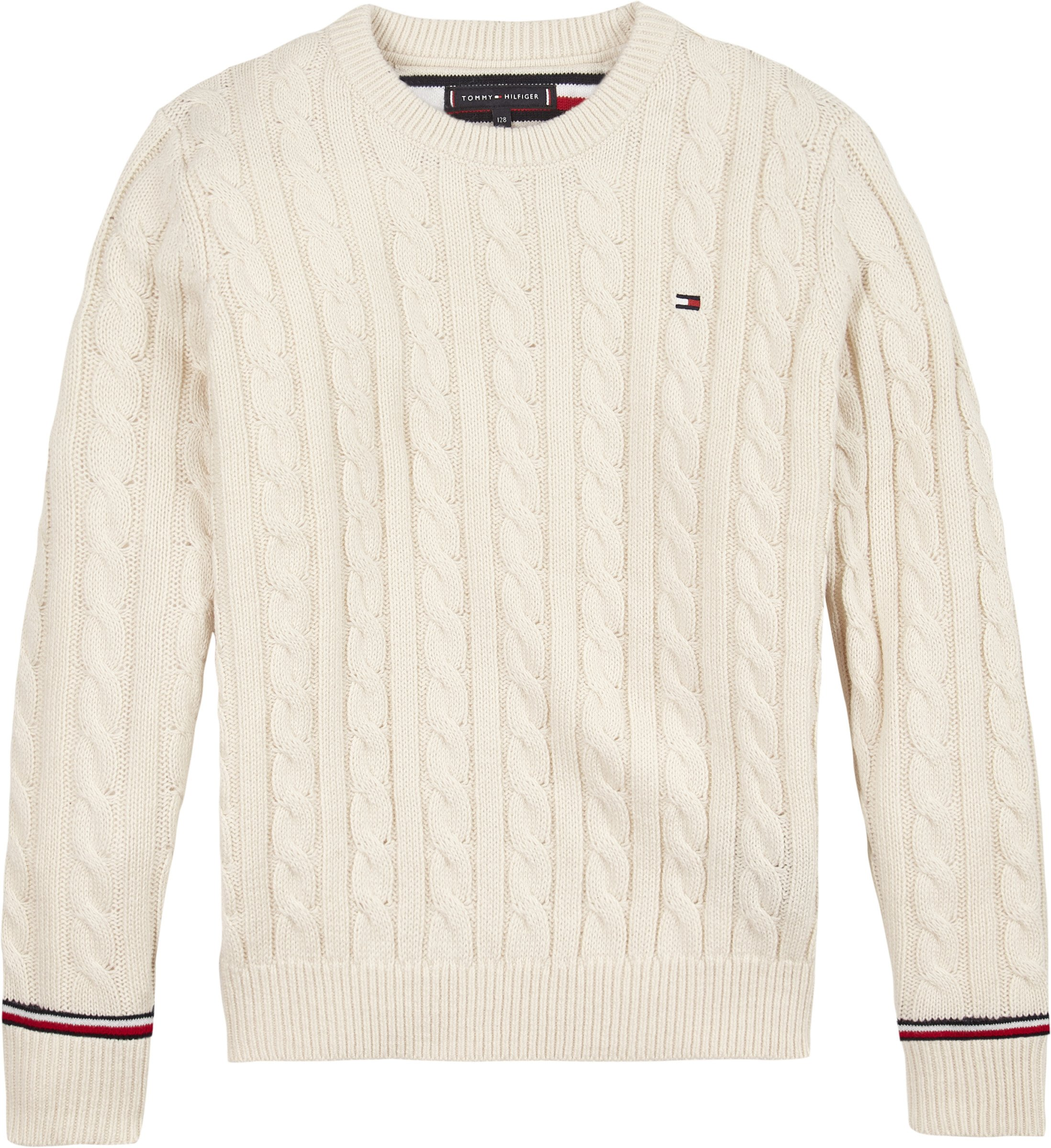 Tommy Hilfiger, essential cabel sweater neulepaita