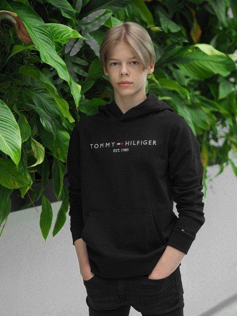 Tommy Hilfiger, Nuorten Essential Huppari, musta