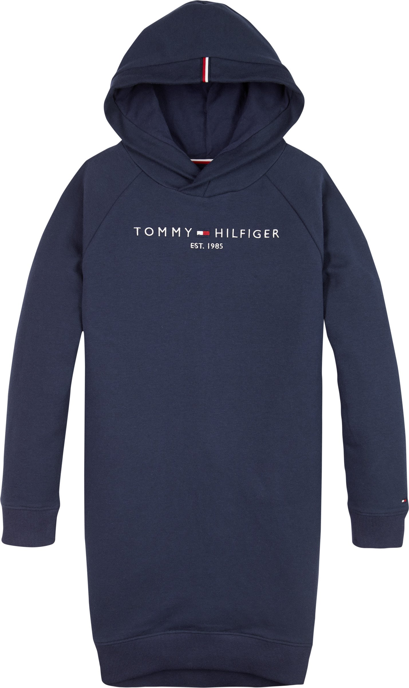 Tommy Hilfiger, essential hooded sweatdress sininen