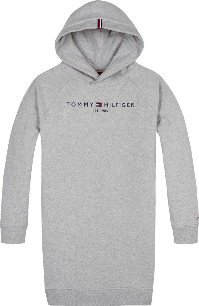 Tommy Hilfiger, essential hooded sweatdress l/s
