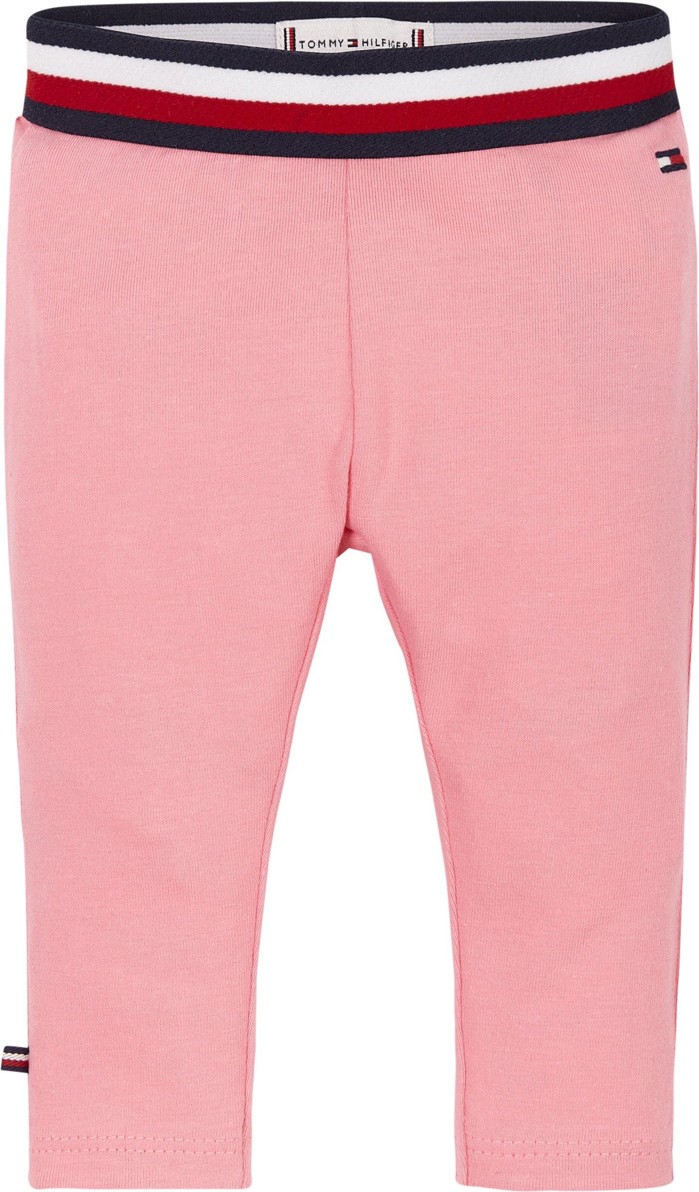 Tommy Hilfiger, Baby solid leggings pinkki