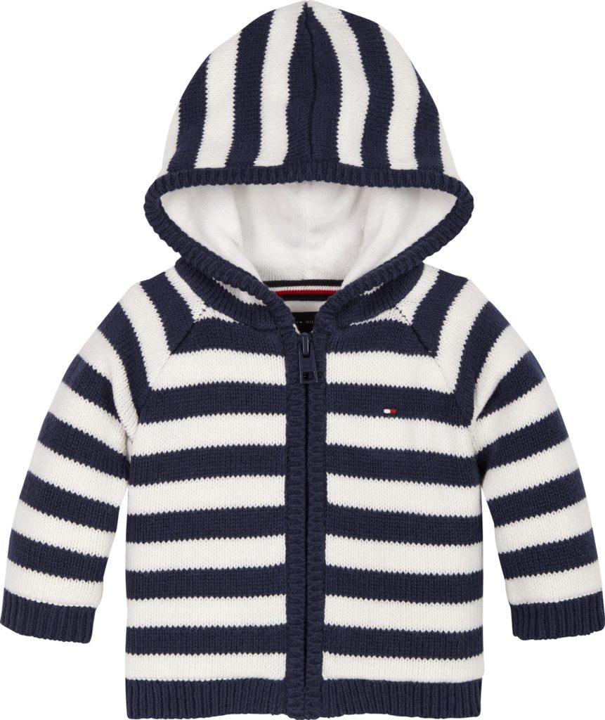 Tommy Hilfiger, Baby Tommy stripe cardigan