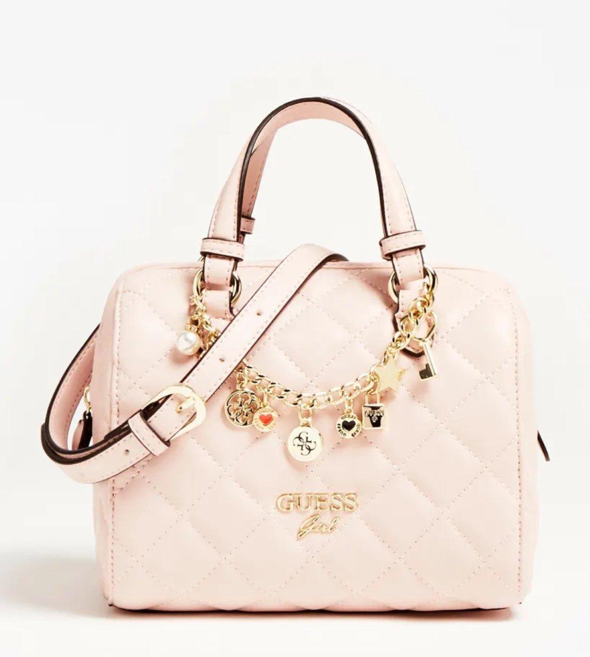 Guess, laukku vaaleanpunainen