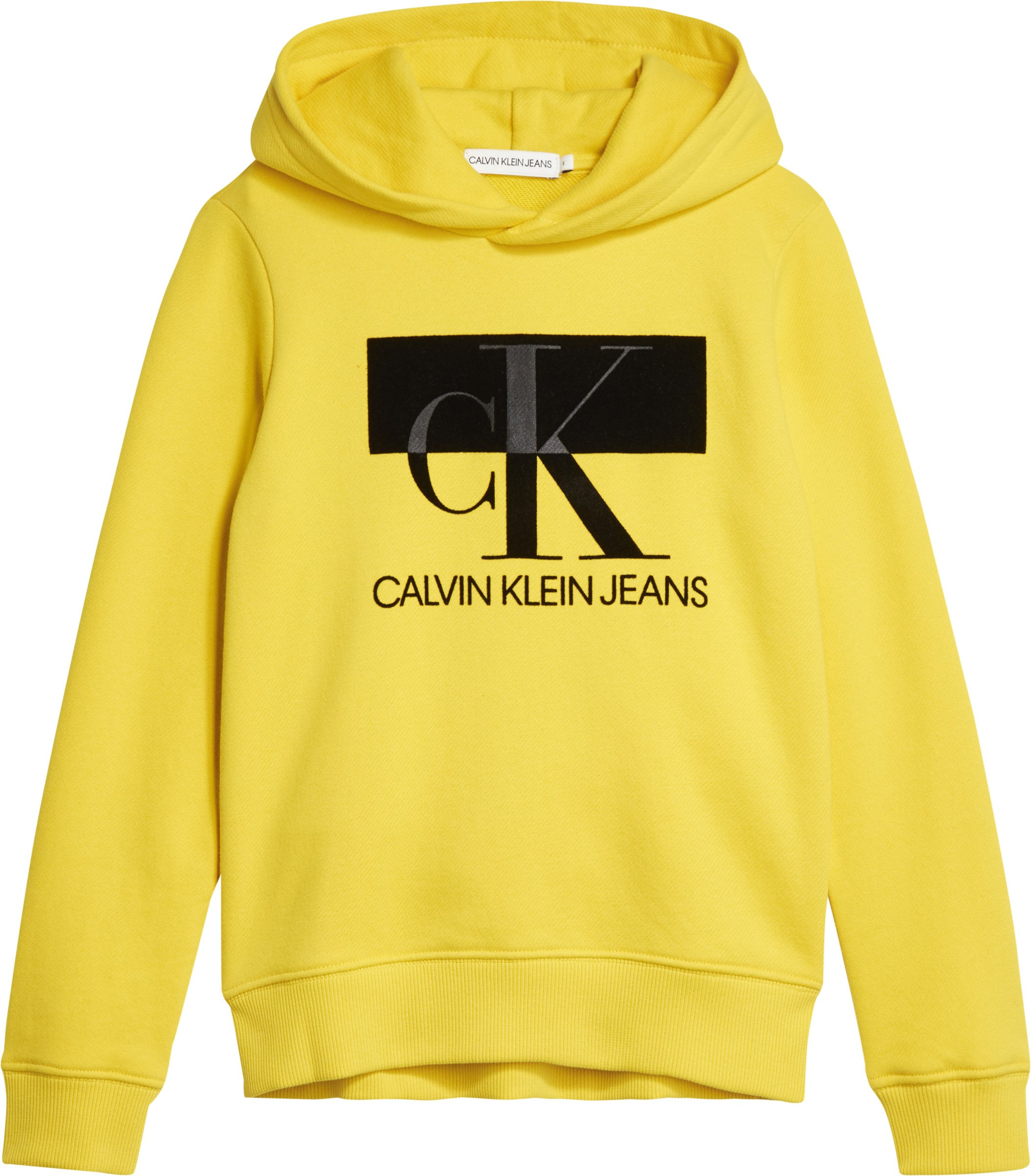 Calvin Klein, Monogram block huppari keltainen