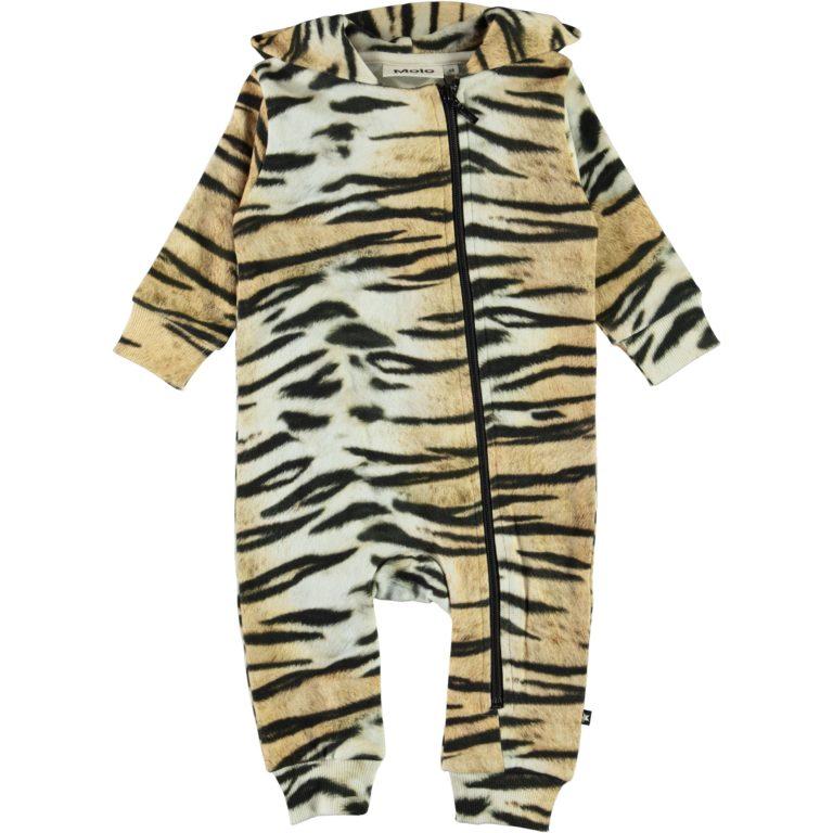 Molo Fowo jumpsuit, Wild Tiger 62-92cm