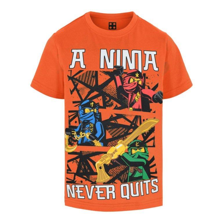Lego Wear, Ninjago t-paita, oranssi