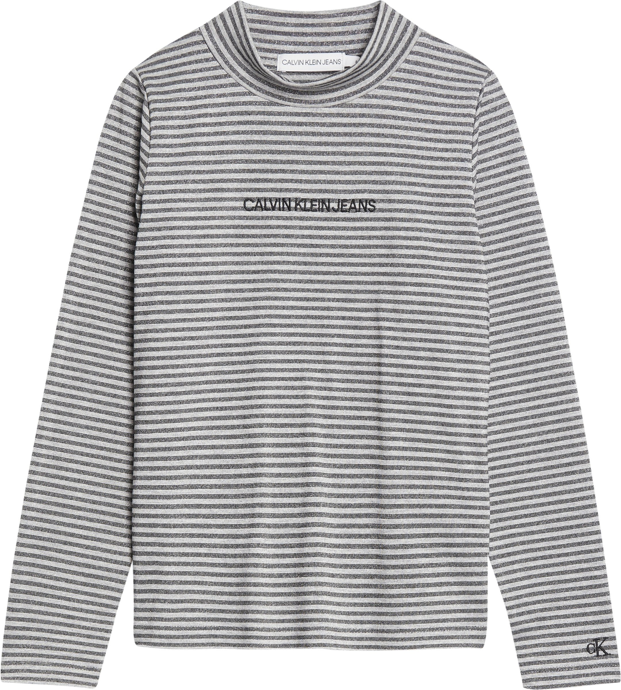 Calvin Klein, striped lurex paita