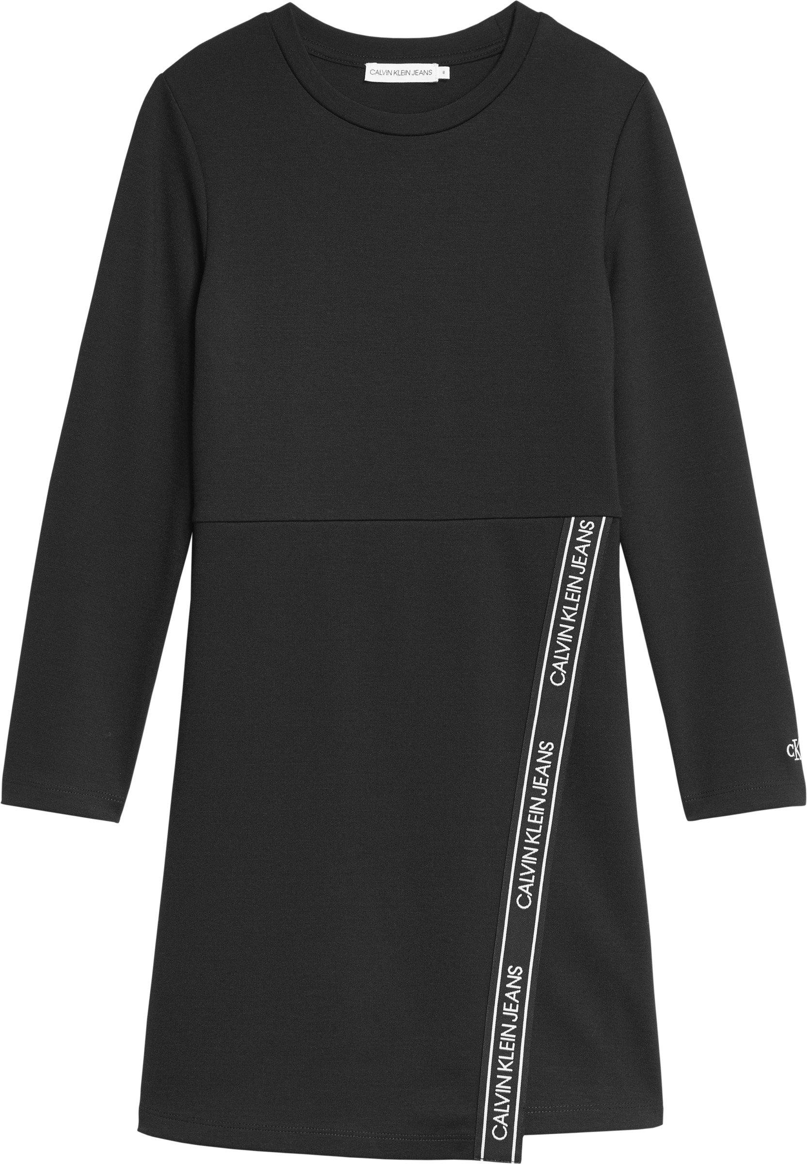 Calvin Klein, logo punto wrap mekko nuorille
