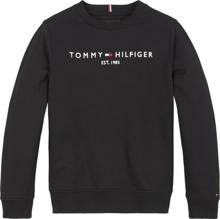 Tommy Hilfiger, Essential cn collegepusero musta