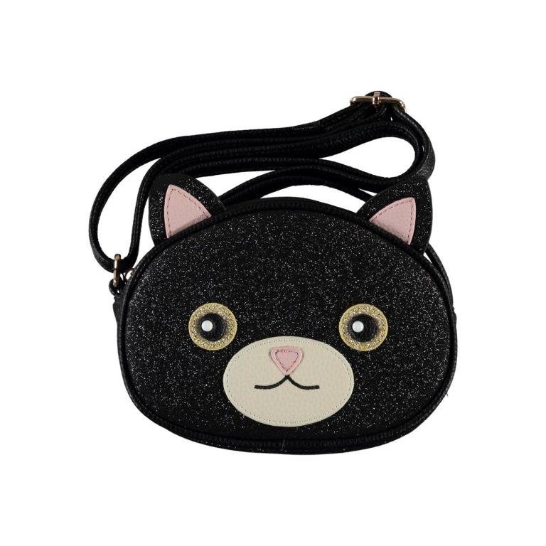 Molo Kids, kissa laukku musta