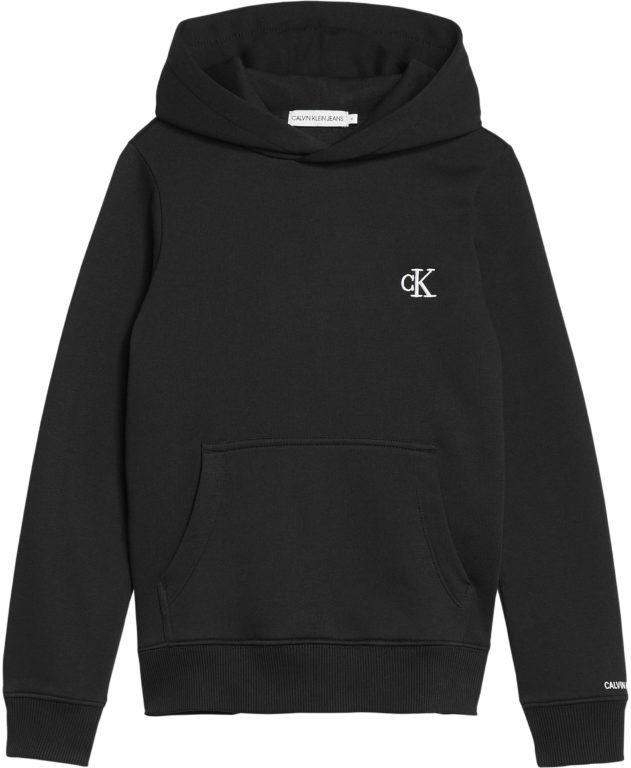 Calvin Klein, E CK logo huppari musta