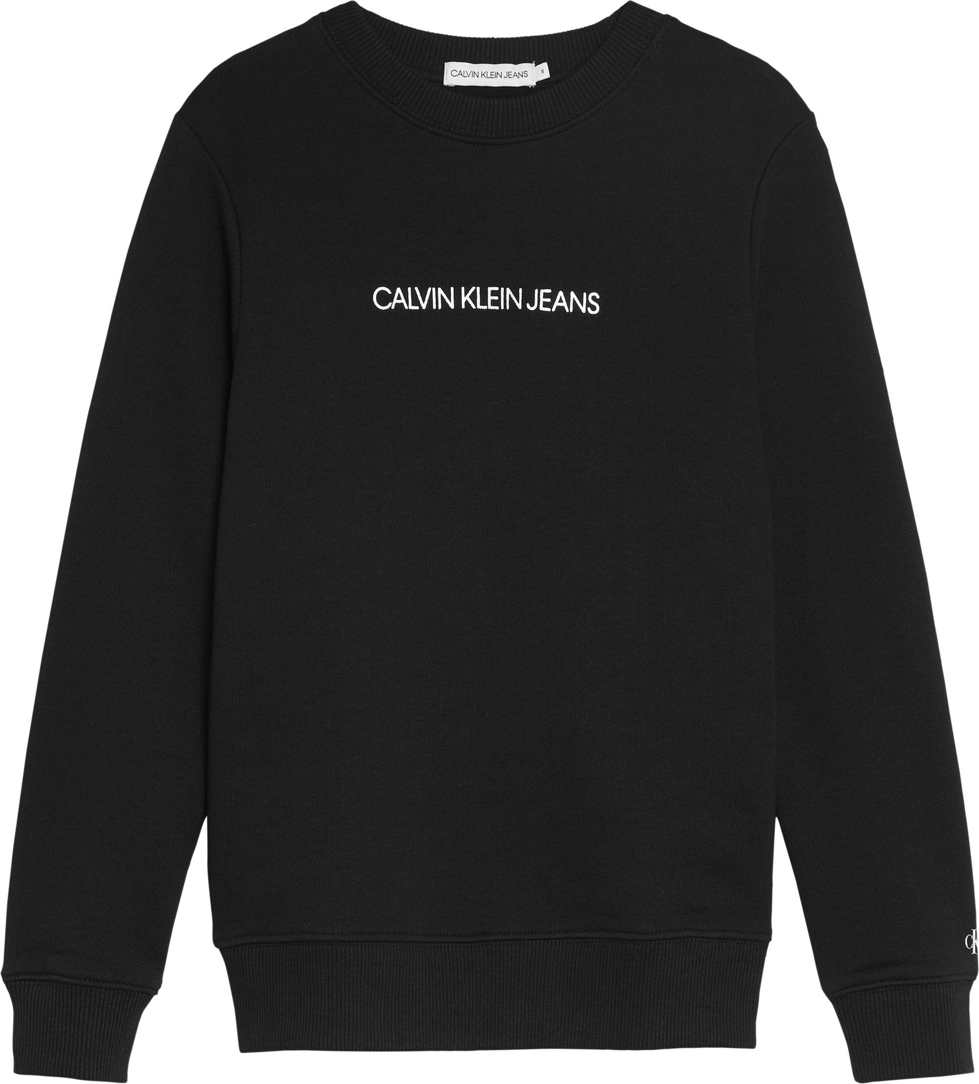 Calvin Klein, Metallic logo collegepaita