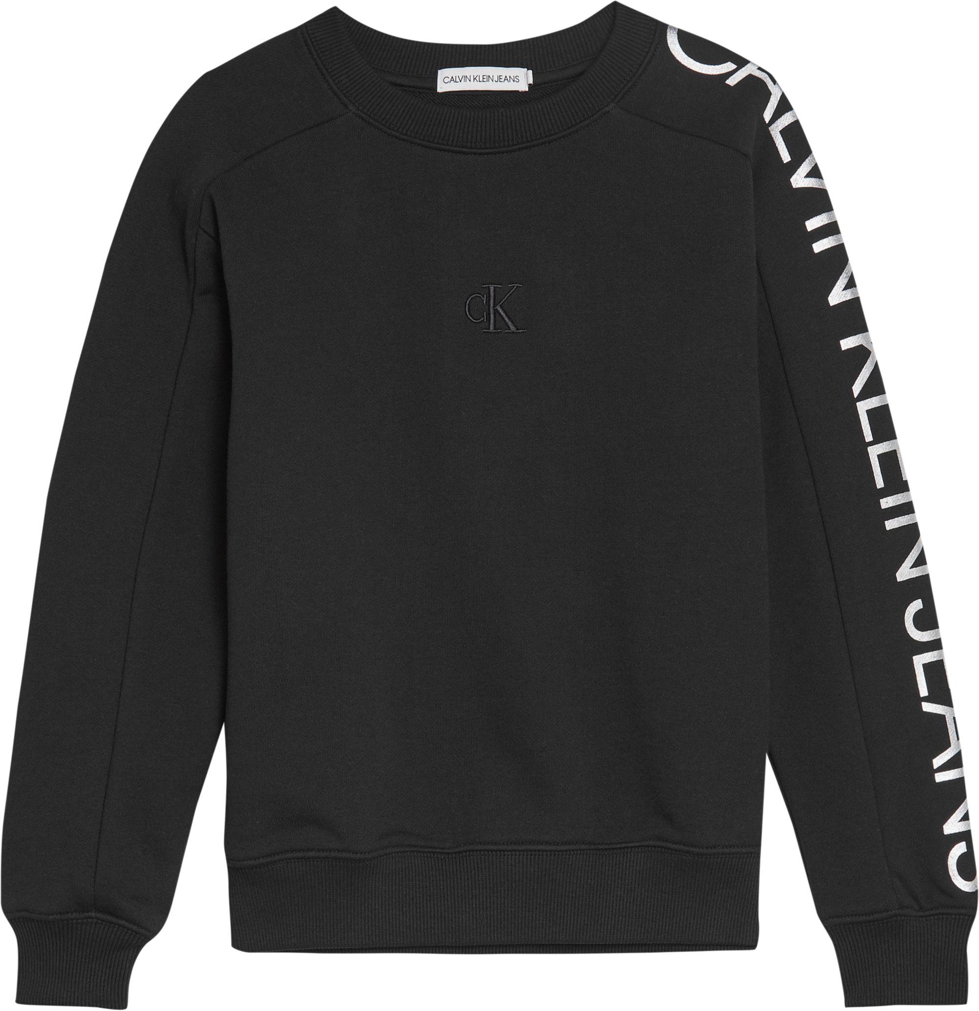 Calvin Klein, Foil logo sleeve collegepaita