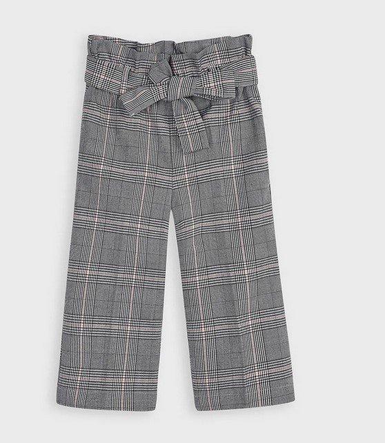 MAYORAL girls paperbag pants, ruutuhousut