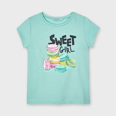 Mayoral vaaleanvihreä t-paita