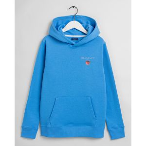 Gant, medium shield sweat hoodie huppari nuorille sininen