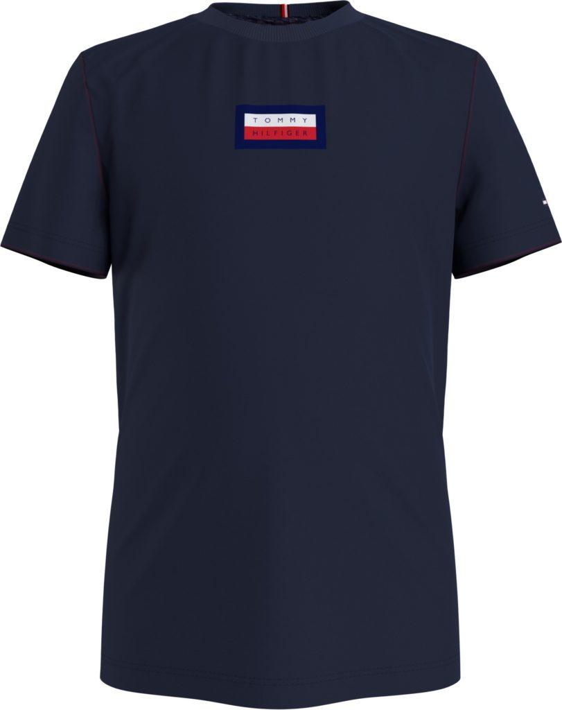 Tommy Hilfiger, msw hilfiger graphic t-paita sininen