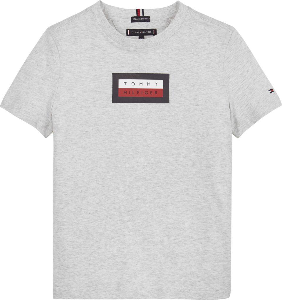 Tommy Hilfiger, msw hilfiger graphic t-paita harmaa