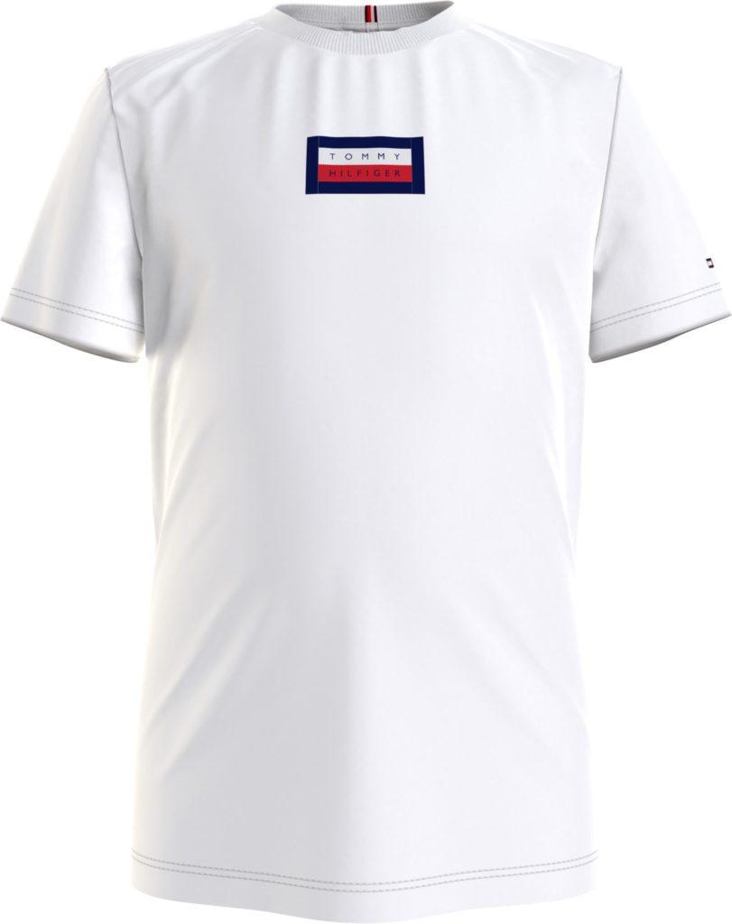 Tommy Hilfiger, msw hilfiger graphic t-paita valkoinen