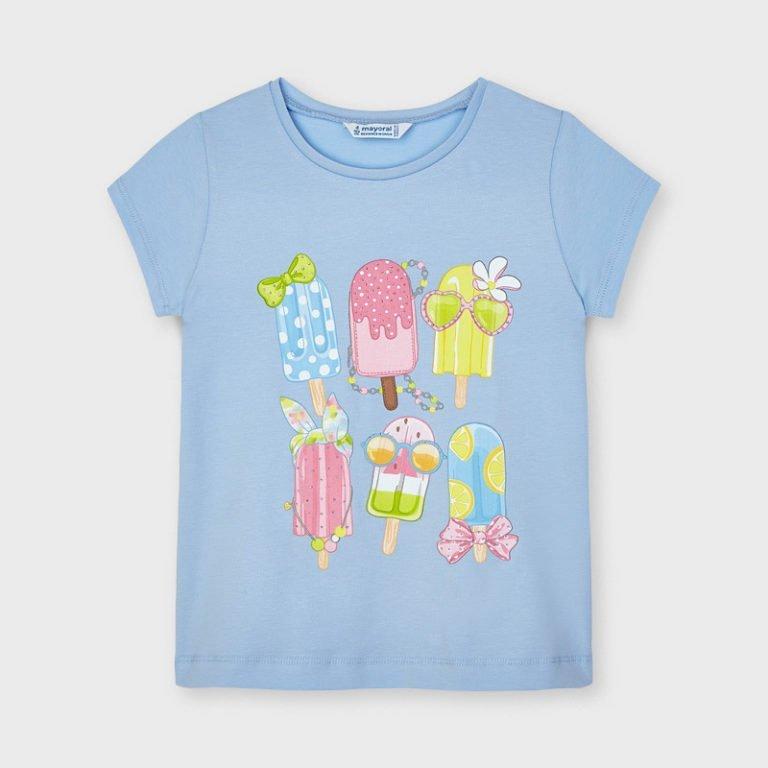 Mayoral vaaleansininen t-paita