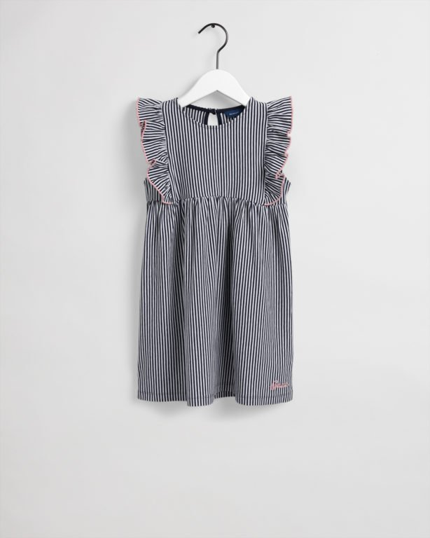 Lasten Gant, D1. Striped Jersey mekko