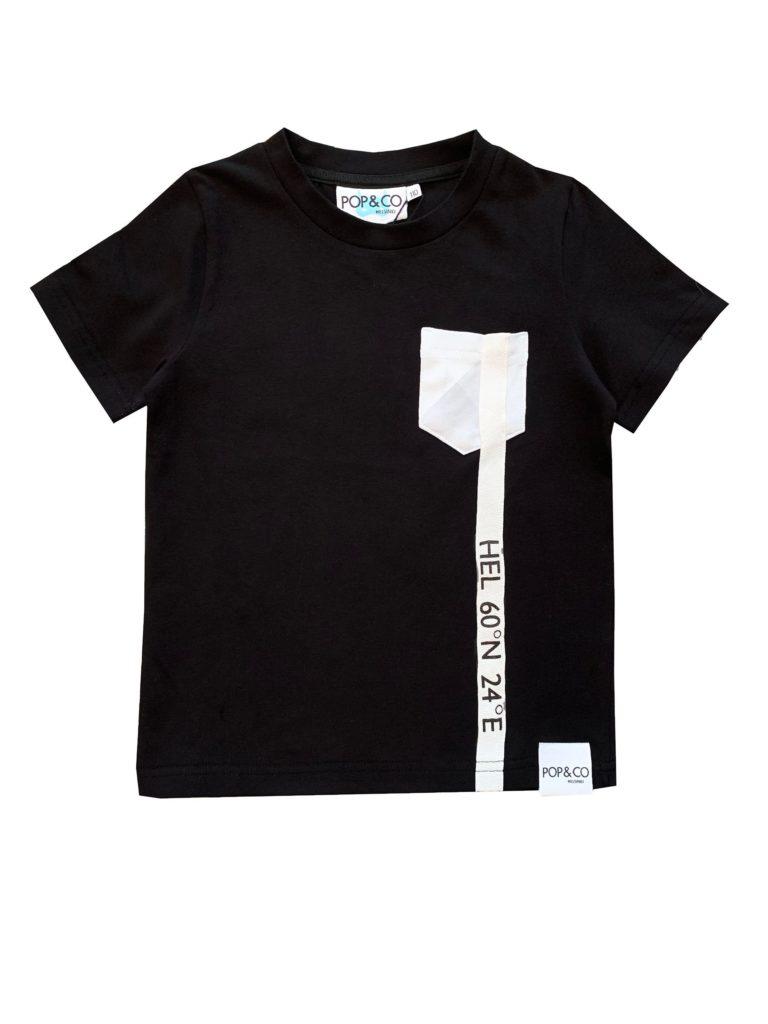 Pop&Co Helsinki, Austin t-paita musta