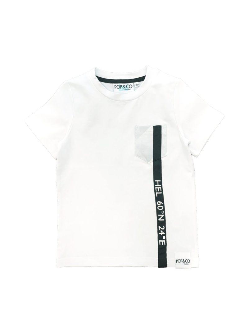 Pop&Co Helsinki, Austin t-paita valkoinen
