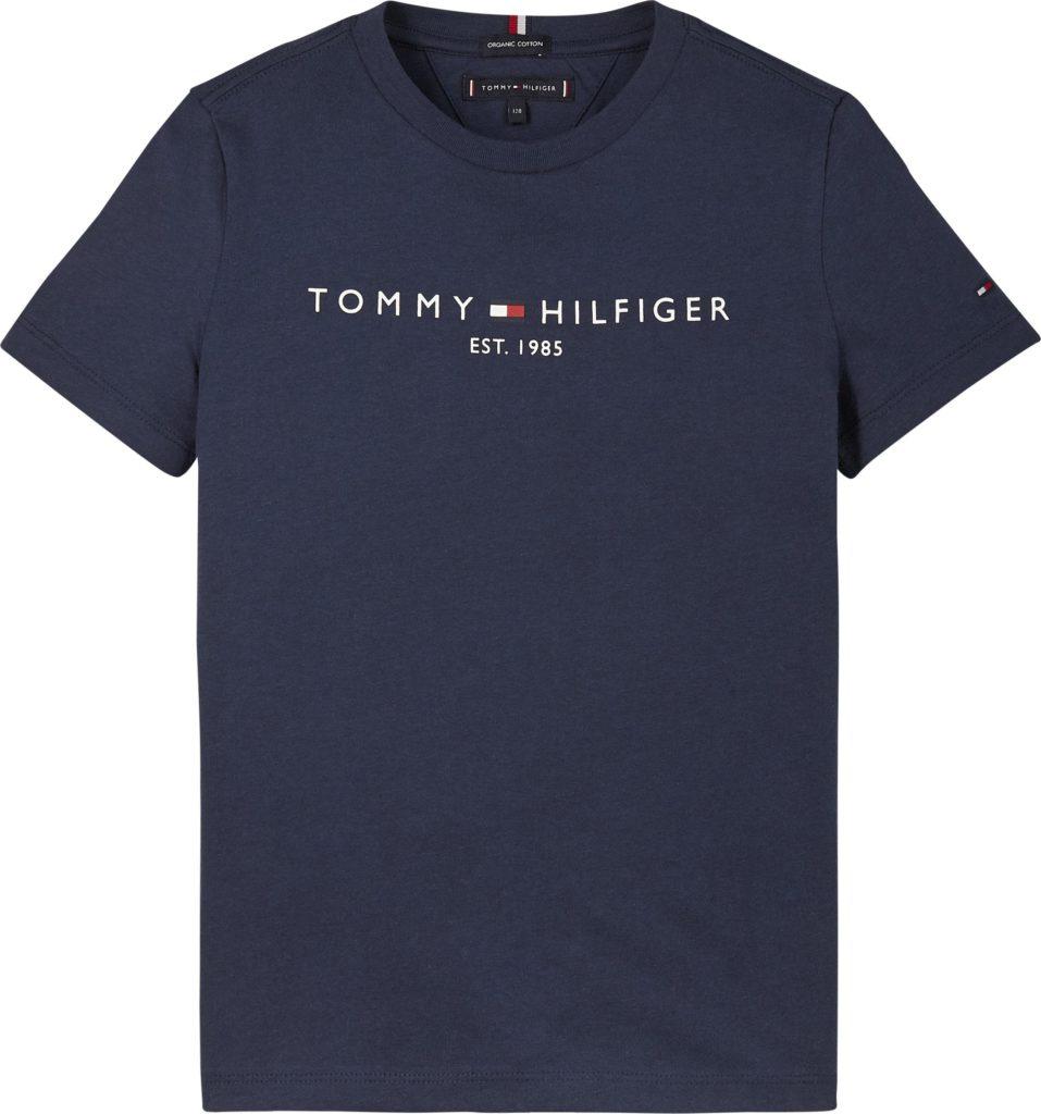 Tommy Hilfiger, essential s/s t-paita navy