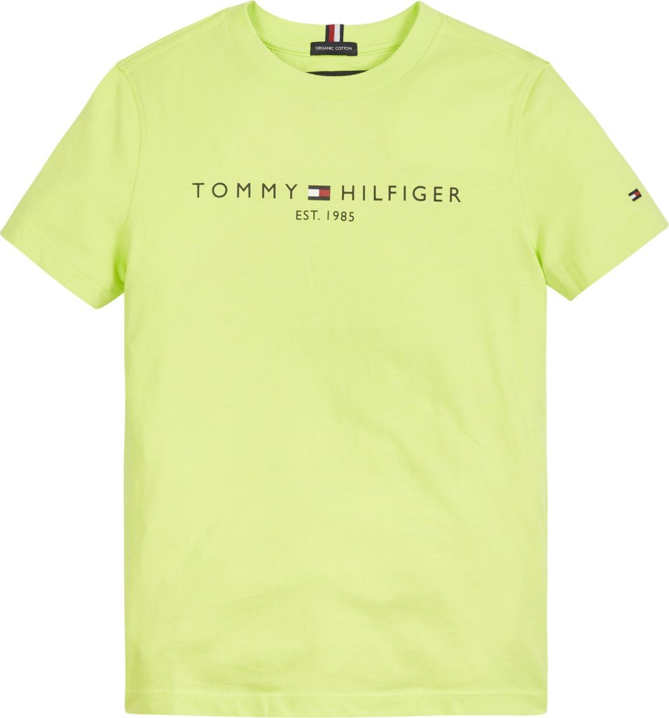 Tommy Hilfiger, nuorten essential s/s t-paita lime