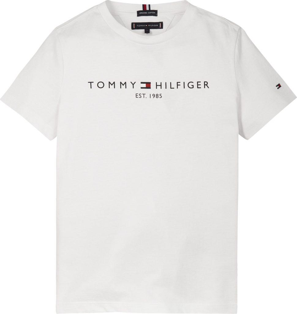 Tommy Hilfiger, lasten essential t-paita valkoinen, koot 86cm - 122cm